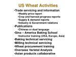 us wheat activities