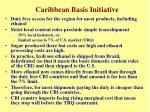 caribbean basis initiative