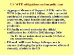 us wto obligations and negotiations