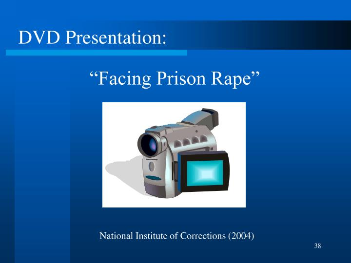 """Facing Prison Rape"""