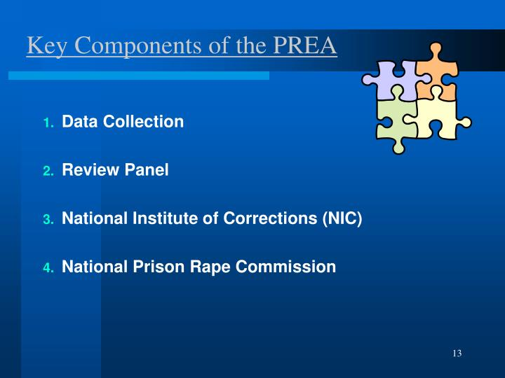 Key Components of the PREA
