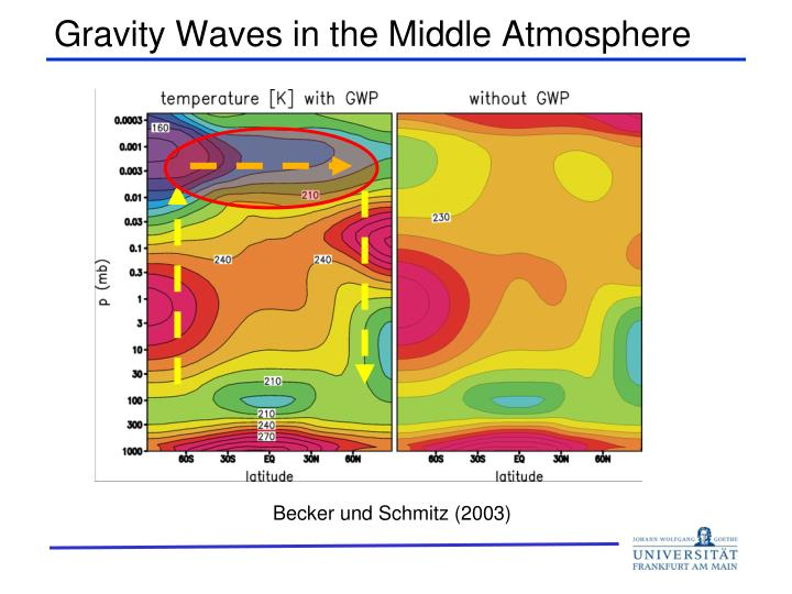 Gravity waves in the middle atmosphere1