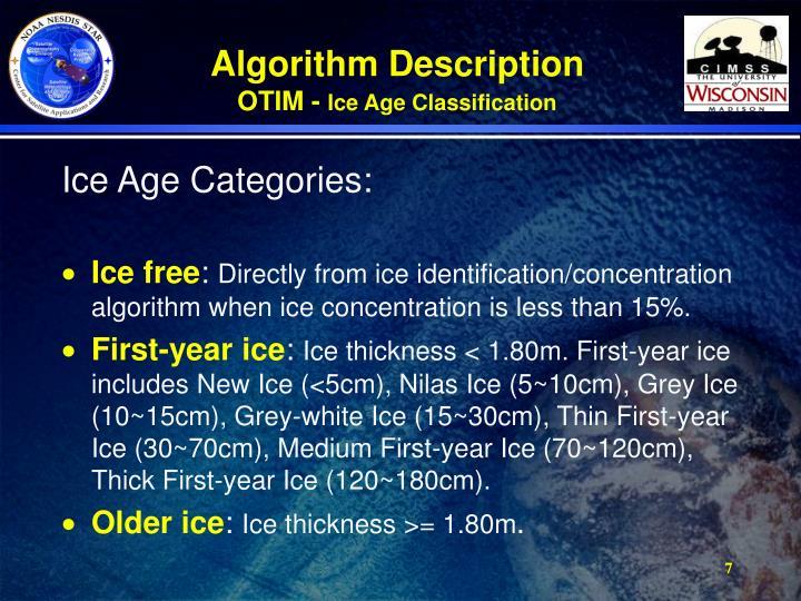Algorithm Description
