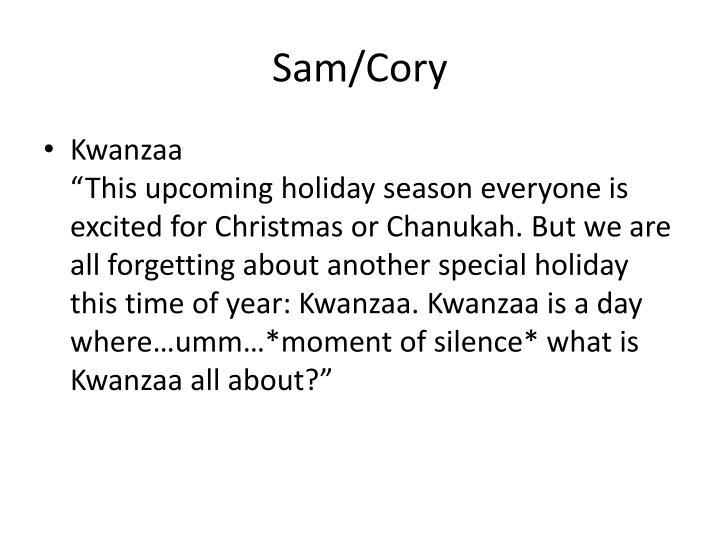 Sam/Cory