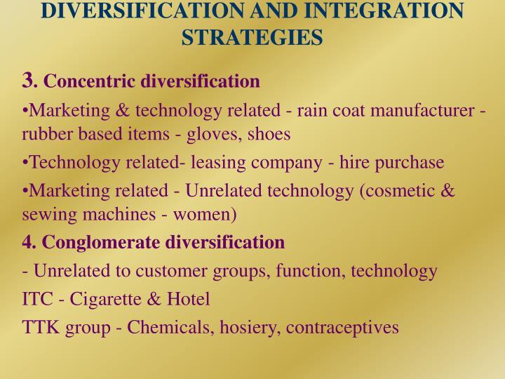 ITC  Diversification  SlideShare