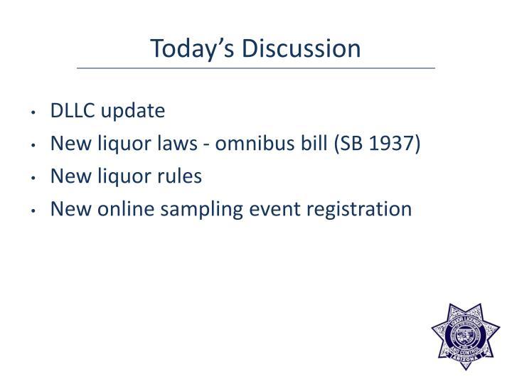 DLLC update
