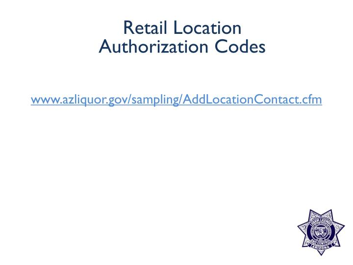www.azliquor.gov/sampling/AddLocationContact.cfm