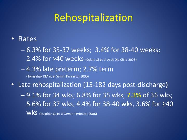 Rehospitalization