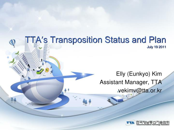 Tta s transposition status and plan july 19 2011