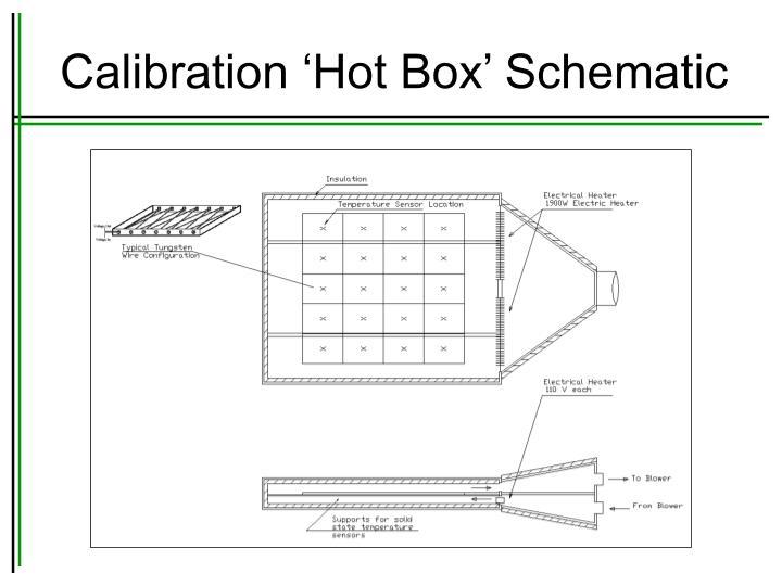 Calibration 'Hot Box' Schematic
