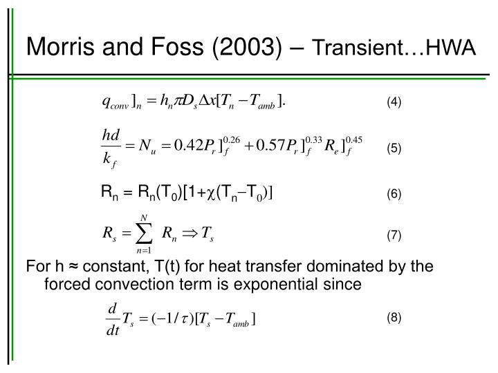 Morris and Foss (2003) –