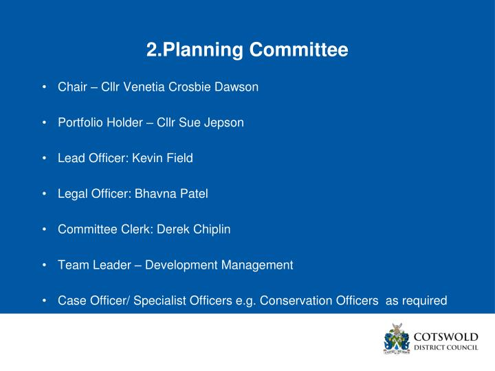 2.Planning Committee