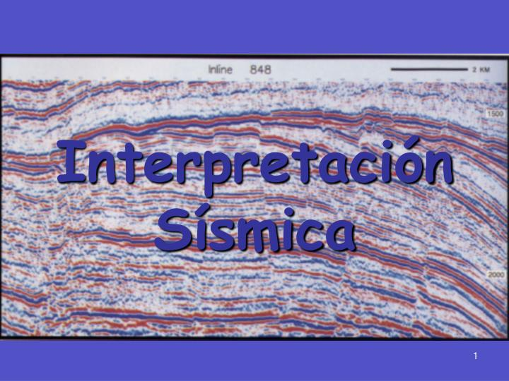 Interpretaci n s smica