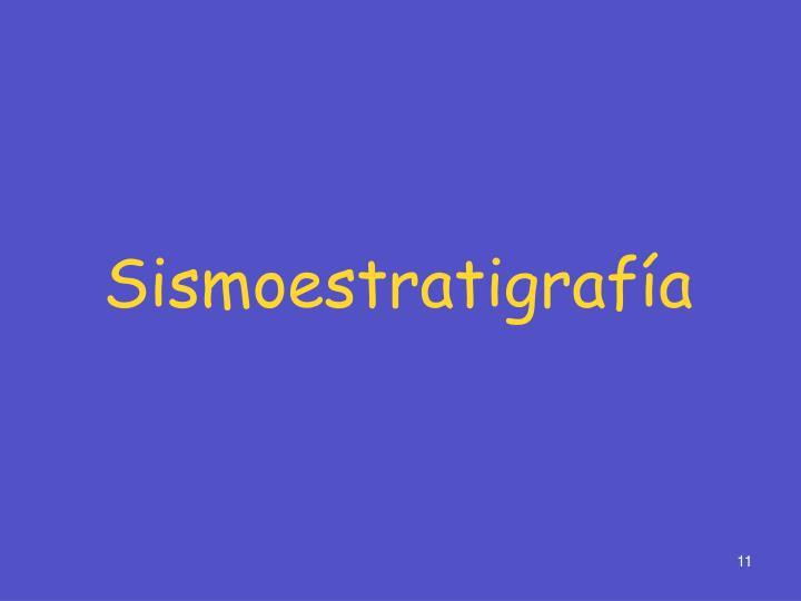 Sismoestratigrafía