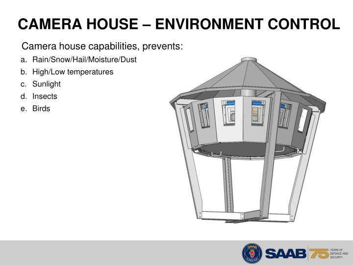 CAMERA HOUSE – ENVIRONMENT CONTROL
