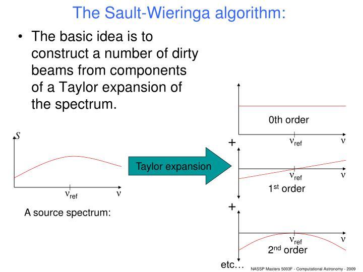 The Sault-Wieringa algorithm: