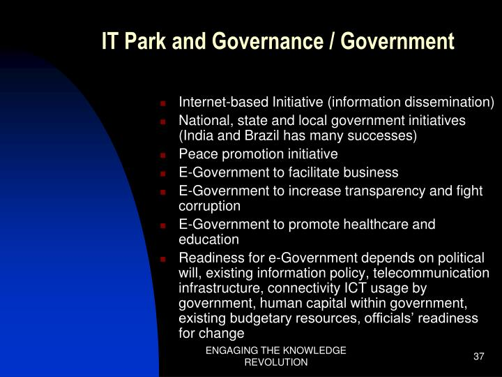 IT Park and Governance / Government
