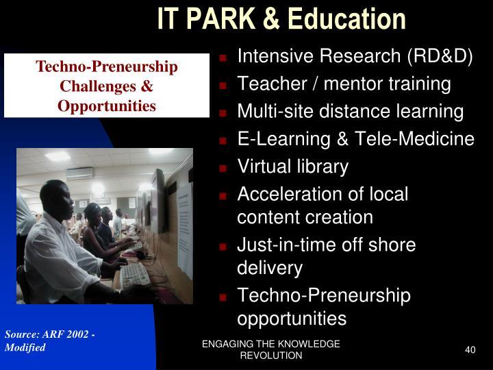 IT PARK & Education