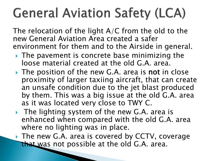 General Aviation Safety (LCA)