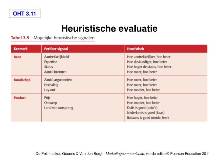 Heuristische evaluatie