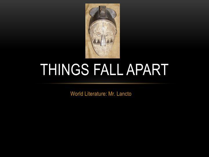 english things fall apart