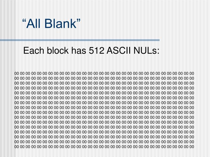 """All Blank"""