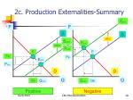 2c production externalities summary