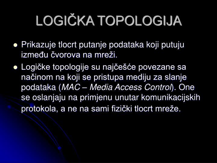 LOGIČKA TOPOLOGIJA