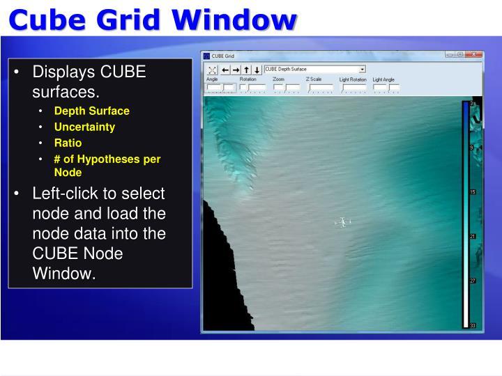 Cube Grid Window