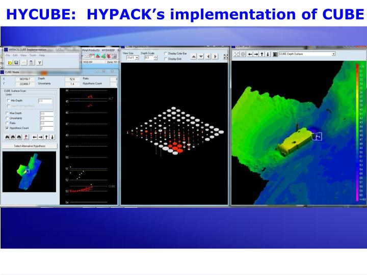 HYCUBE:  HYPACK's implementation of CUBE
