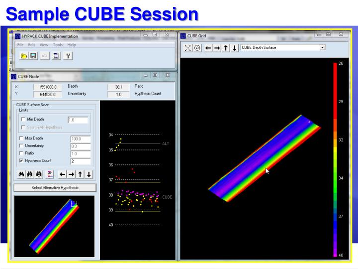 Sample CUBE Session
