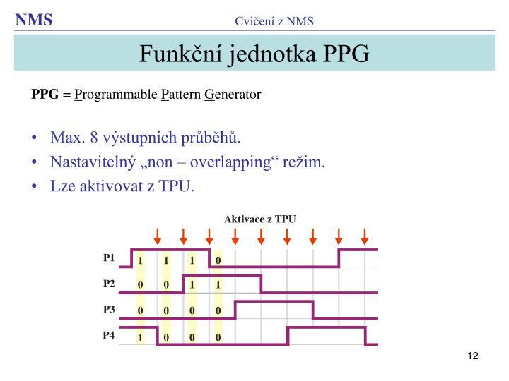 Funkční jednotka PPG