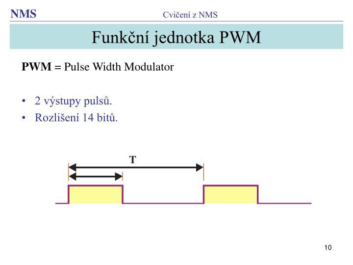 Funkční jednotka PWM