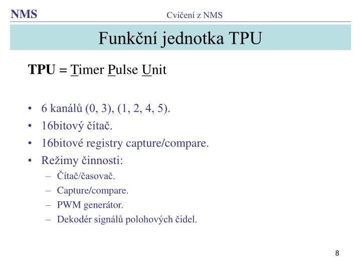 Funkční jednotka TPU