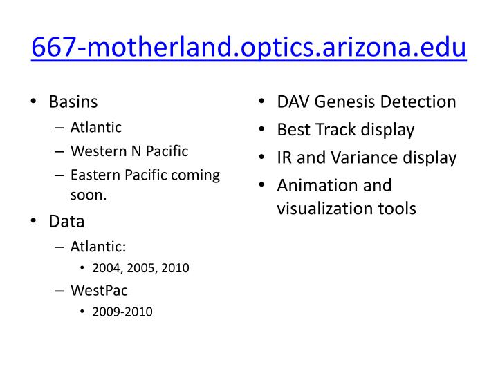 667-motherland.optics.arizona.edu