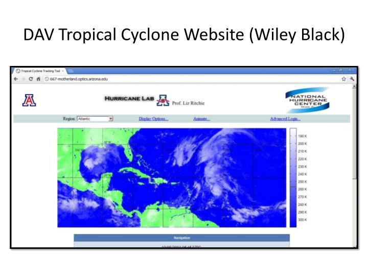 DAV Tropical Cyclone Website (Wiley Black)