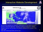 interactive website development
