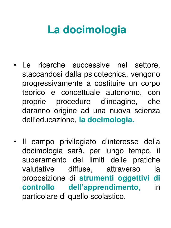 La docimologia