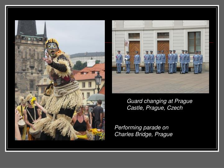 Guard changing at Prague Castle, Prague, Czech
