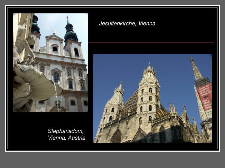 Jesuitenkirche, Vienna