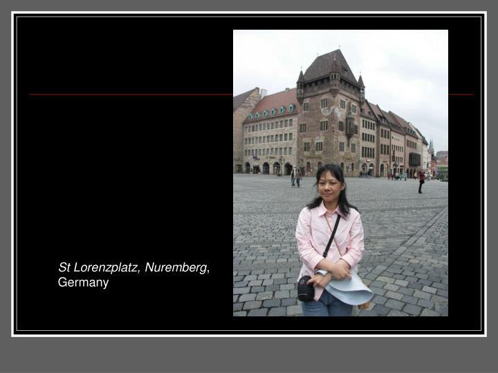 St Lorenzplatz, Nuremberg