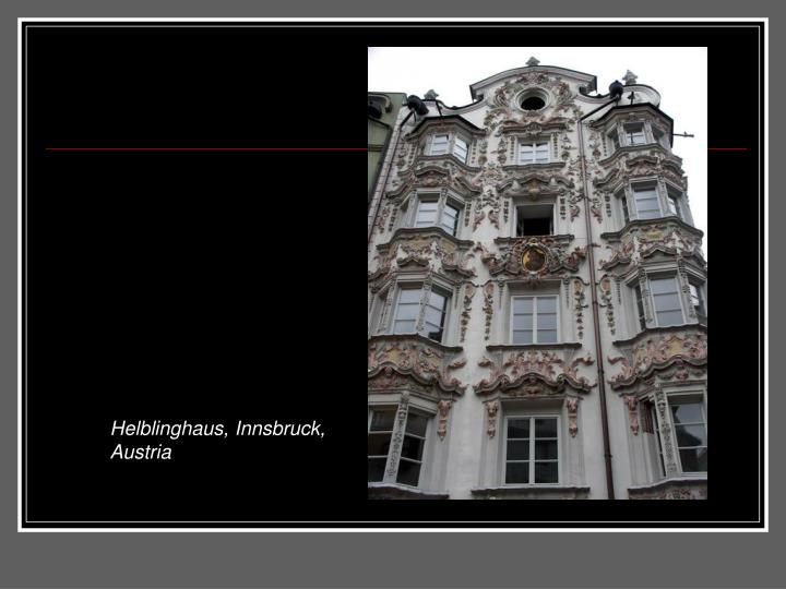 Helblinghaus, Innsbruck, Austria