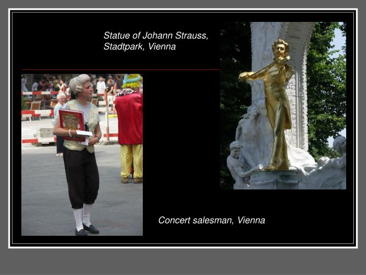 Statue of Johann Strauss, Stadtpark, Vienna