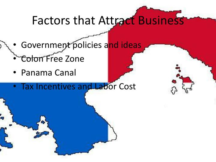 Factors that Attract Business