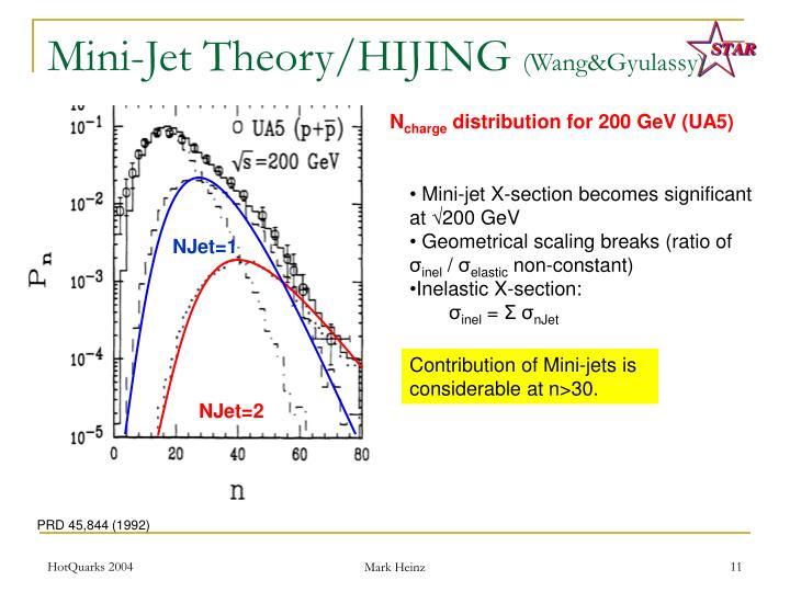 Mini-Jet Theory/HIJING