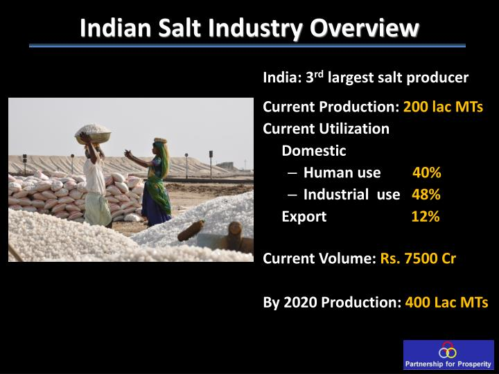 Indian Salt Industry Overview
