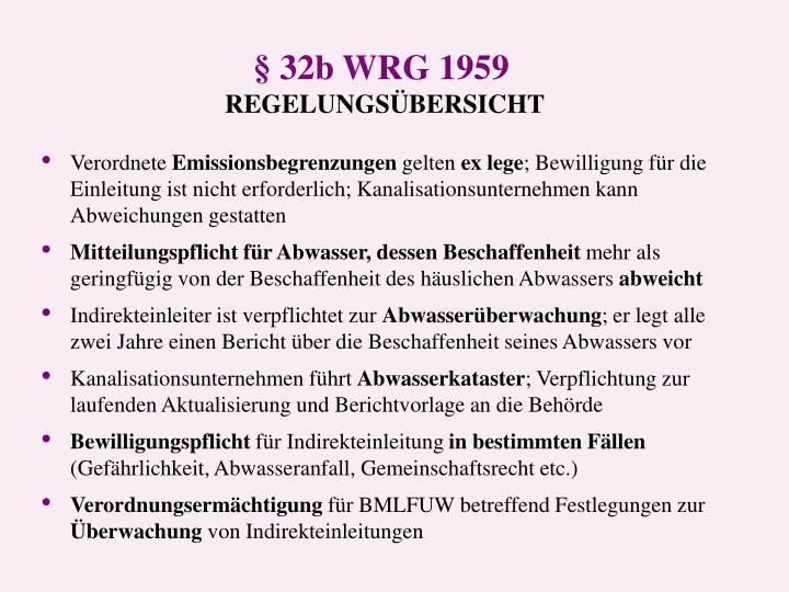 § 32b WRG 1959