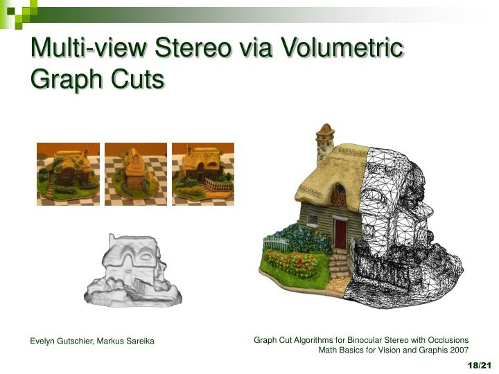 Multi-view Stereo via Volumetric Graph Cuts