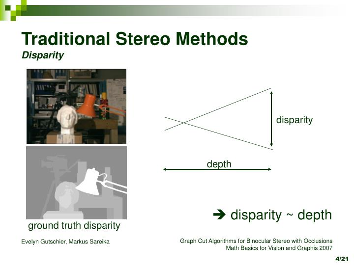 Traditional Stereo Methods