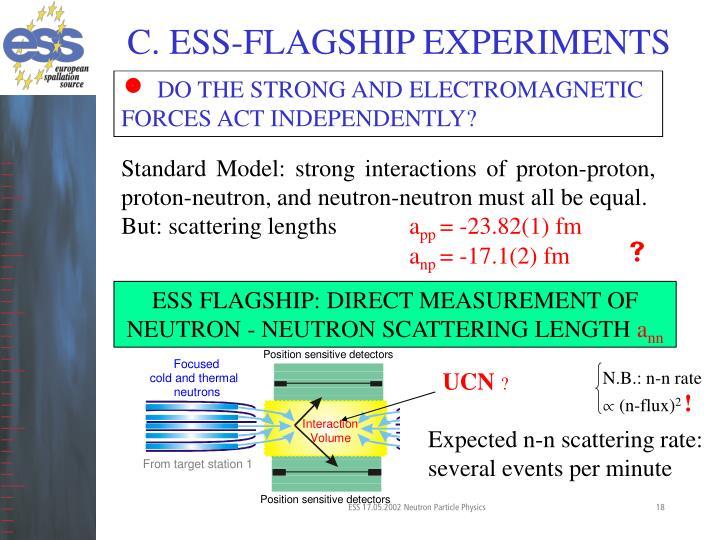 C. ESS-FLAGSHIP EXPERIMENTS
